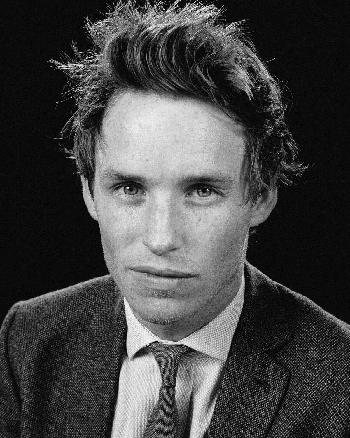 Eddie Redmayne,  by lifestyle photographer Tim Cole