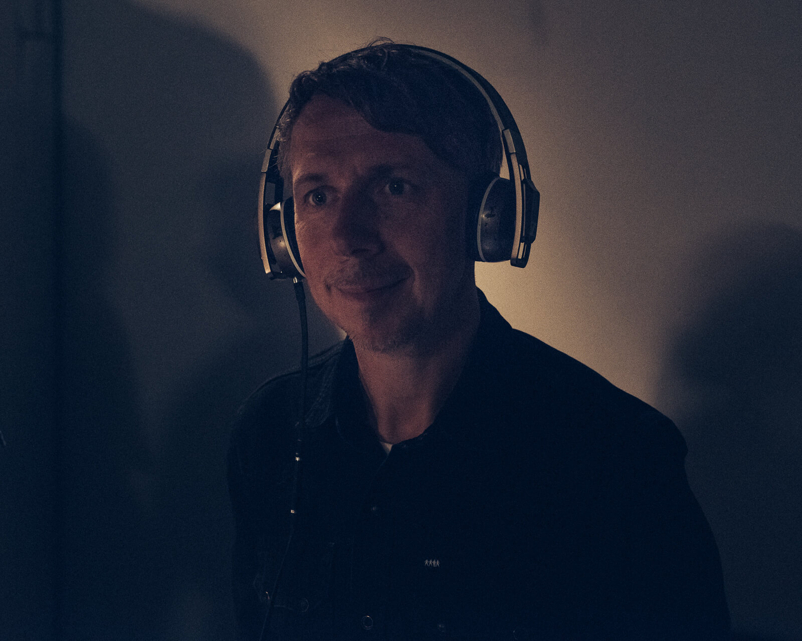Gilles Peterson portrait by lifestyle photographer Tim Cole