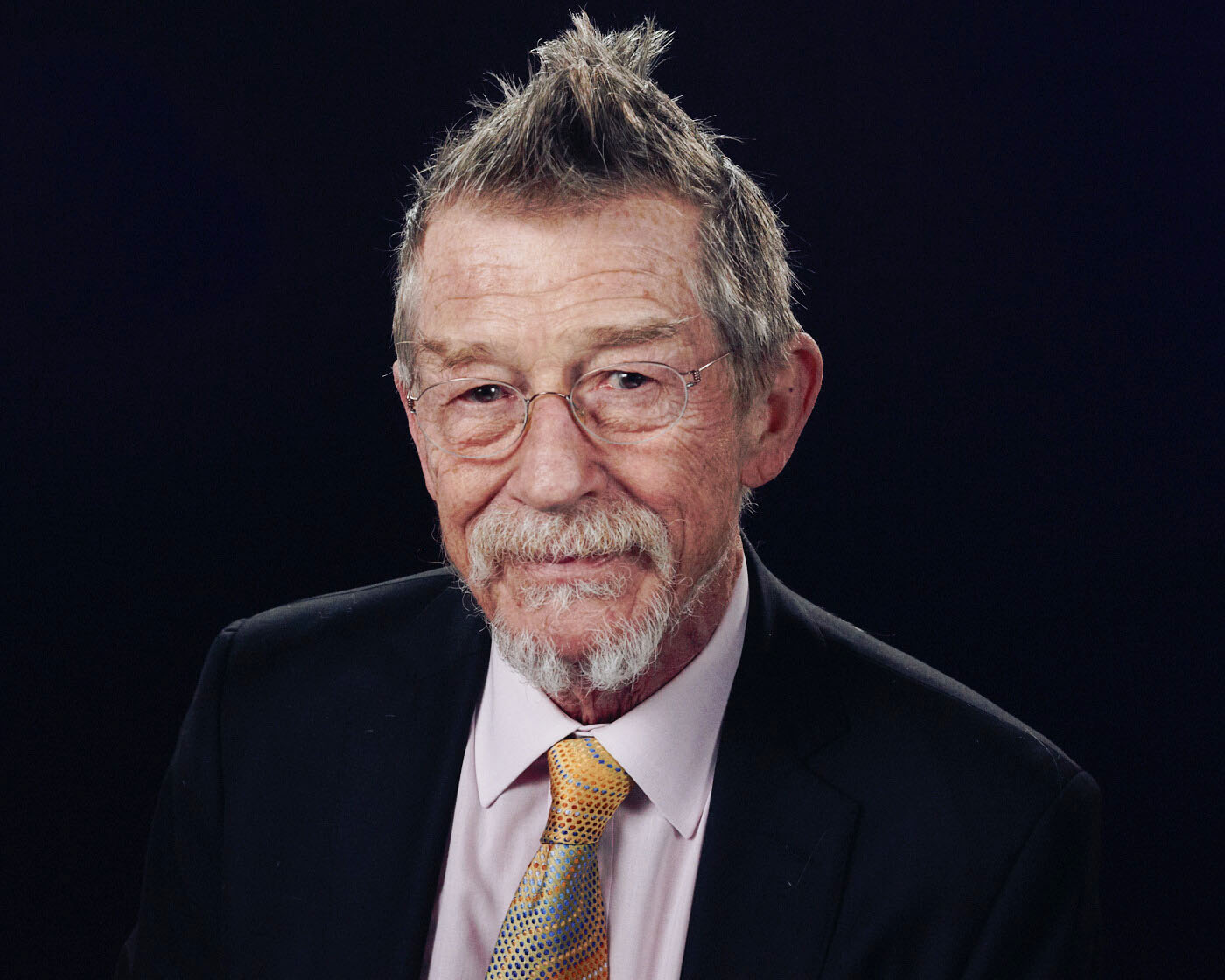 Lifestyle photographer Tim Cole shoots Sir John Hurt