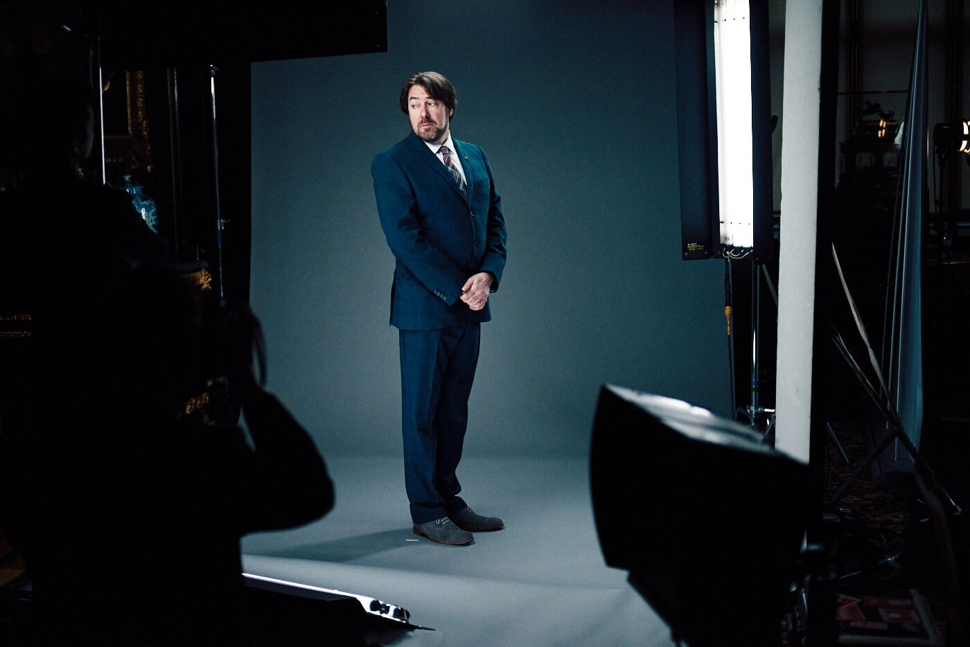 Jonathan Ross, by lifestyle photographer Tim Cole