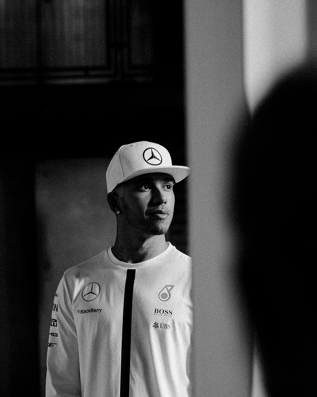 lifestyle photographer Tim Cole shoots Lewis Hamilton