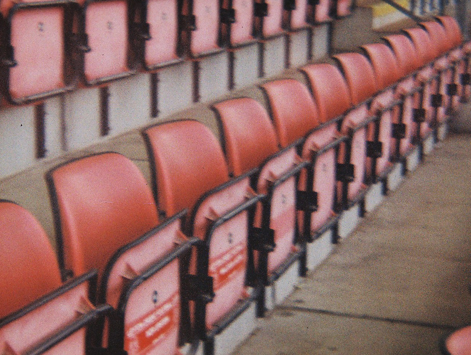 Leyton FC stadium seats by lifestyle photographer  Tim Cole