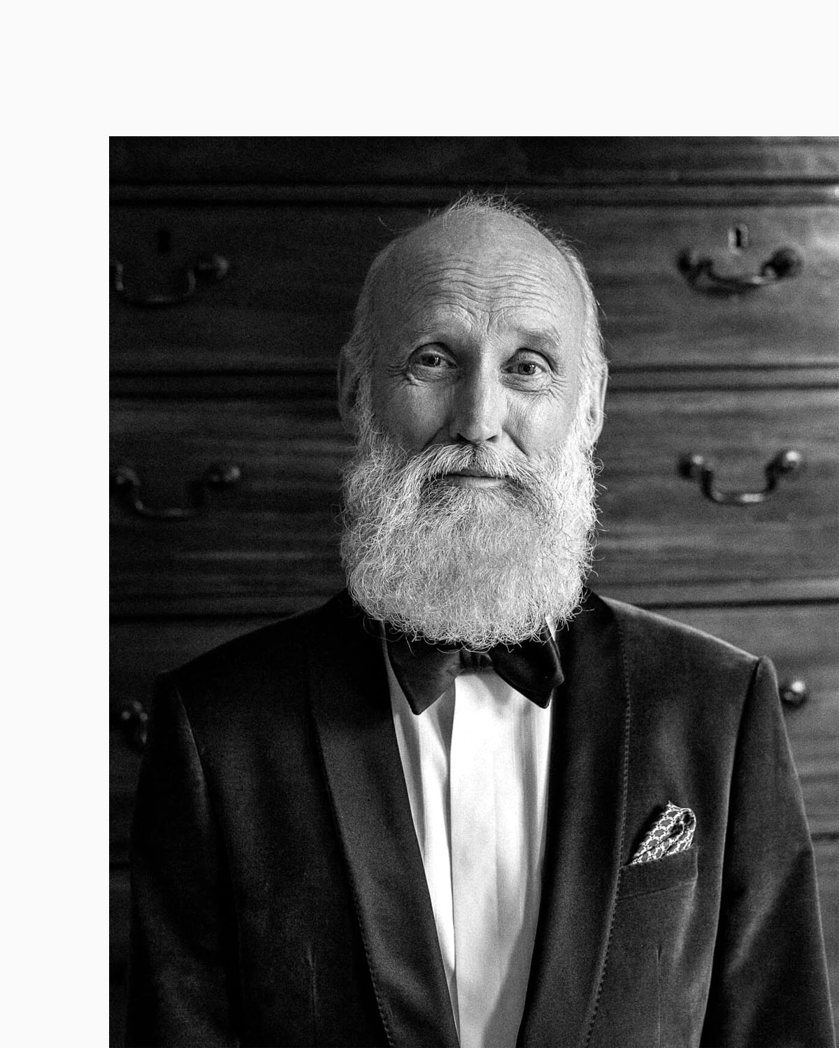 mature white beard man by lifestyle photographer Tim Cole