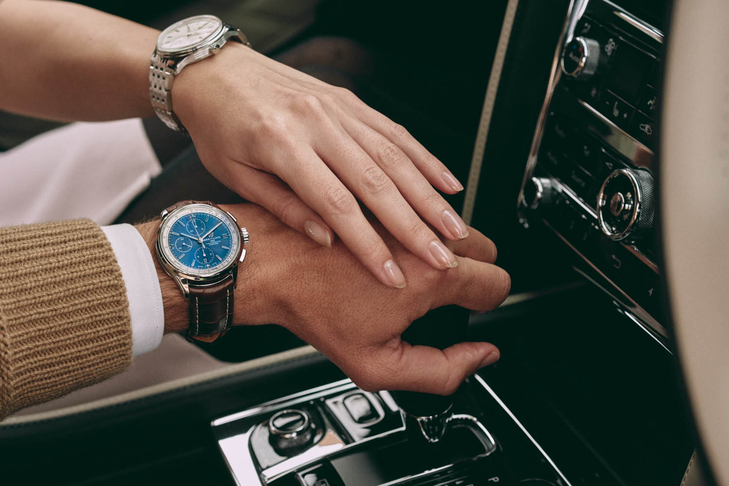 hand touch hand by luxury lifestyle photographer  Tim Cole