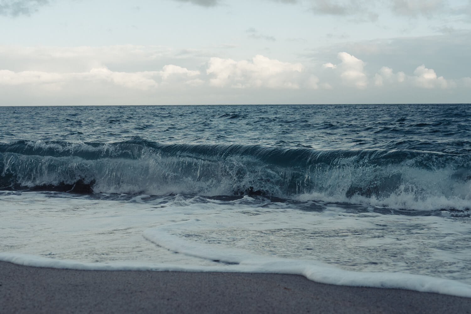 Lifestyle photographer Tim Cole shoots  sea waves