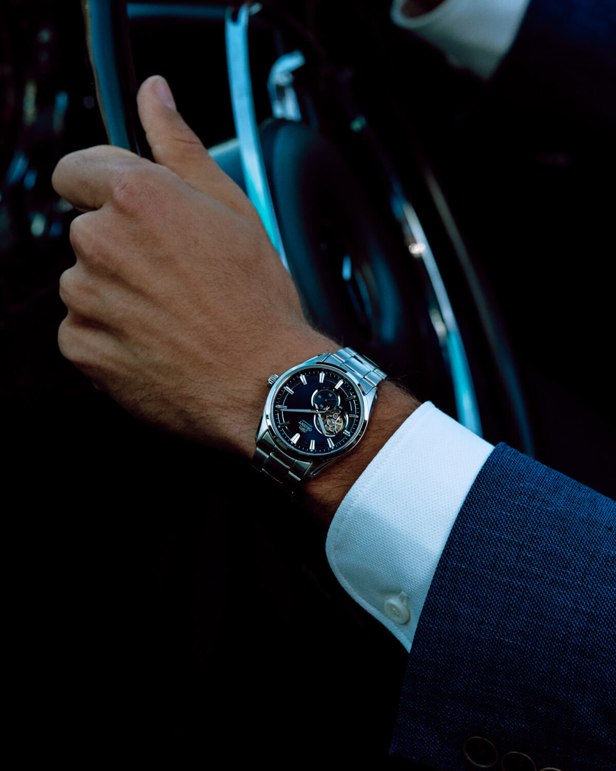 Lifestyle photographer Tim Cole, Orient watch, classic car