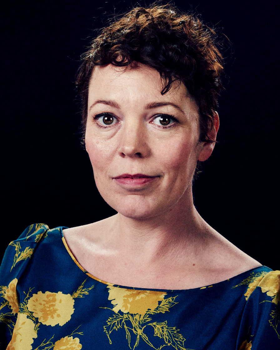 Olivia Colman,  by lifestyle photographer Tim Cole